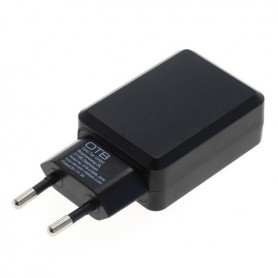 OTB - Charging Adapter USB 3A With Auto-ID Black - Ac charger - ON2830 www.NedRo.us