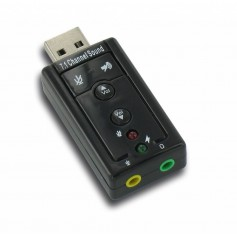 Dolphix USB 7.1 Sound Card Adapter YPU116