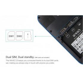 NedRo, iPro i9355 Dual SIM 3.5 Inc. Smartphone Android 4.4 White AL296, GSM Phones, AL296, EtronixCenter.com