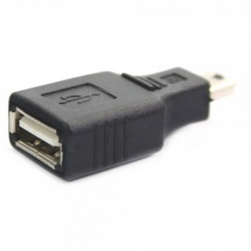 NedRo - USB A Female to Mini USB B 5 Pin M Adapter Converter AL012 - USB adapters - AL012 www.NedRo.us
