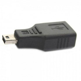 NedRo, USB A Female to Mini USB B 5 Pin M Adapter Converter AL012, USB adapters, AL012