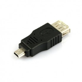 NedRo, USB A Female to Mini USB B M Adapter Converter AL789, USB adapters, AL789, EtronixCenter.com
