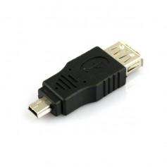 USB A Female to Mini USB B M Adapter Converter AL789