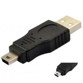Oem - USB A Male to Mini USB 5 Pin Adapter AL128 - USB adapters - AL128