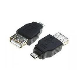 Oem - USB 2.0 Female to Micro USB Male Adapter AL565 - USB adapters - AL565