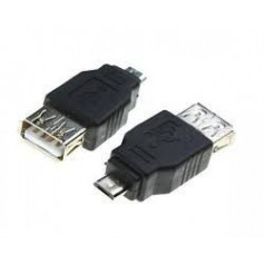 USB 2.0 Female to Micro USB Male Adapter AL565