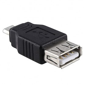 NedRo - USB 2.0 Female to Micro USB Male Adapter AL565 - USB adapters - AL565 www.NedRo.us