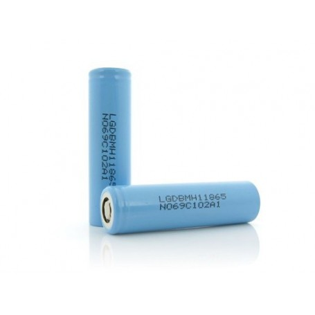 LG - LG INR18650MH1 3200mAh 10A 3.6V rechargeable Lithium battery - Size 18650 - NK075-CB