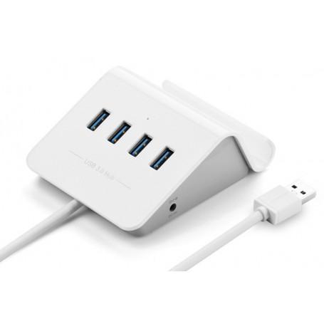 UGREEN - 4 Ports USB 3.0 HUB with Power Adapter and Cradle UG036 - Ports and hubs - UG036