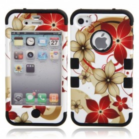 Oem - Hawaiian Flower protective case for iPhone 4 / 4S - iPhone phone cases - WW87010948