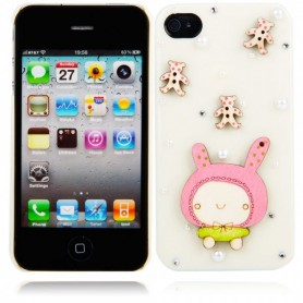 NedRo, Cartoon Doll Style protective case for iPhone 4 / 4S, iPhone phone cases, WW87008230, EtronixCenter.com
