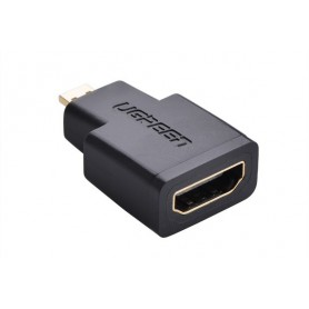 UGREEN, Micro-HDMI Male to HDMI Female Straight Adapter UG051, HDMI adapters, UG051, EtronixCenter.com