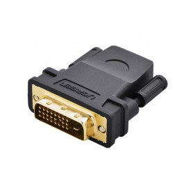 UGREEN, DVI (24+1) Male to HDMI Female Adapter UG054, HDMI adapters, UG054, EtronixCenter.com