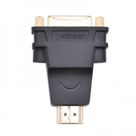 UGREEN - DVI (24+5) Female to HDMI Male Adapter UG055 - HDMI adapters - UG055 www.NedRo.us