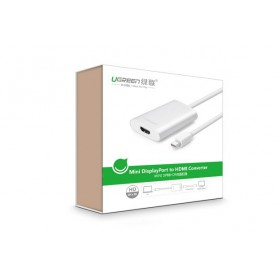 UGREEN - Mini Display Port to HDMI Converter up to 4Kx2K resolution UG065 - HDMI adapters - UG065 www.NedRo.us