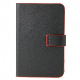 NedRo, 7 inch Tablet PC Leather Case Cover Black and Red TM339, iPad and Tablets covers, TM339