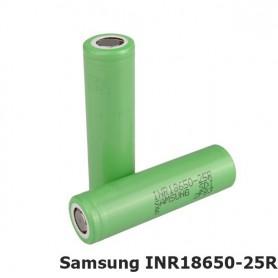 Samsung, Samsung INR18650-25R 2500mAh 20A, Size 18650, NK056-CB