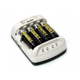 POWEREX, Maha Powerex MH-C401FS AA AAA NiMH Batteries Charger, Battery chargers, MH-C401FS