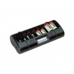 POWEREX - Maha Powerex MH-C808M for AA AAA C D NiMH NiCD Batteries - Battery chargers - MH808M