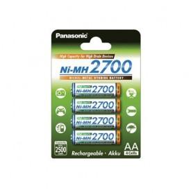 Panasonic, AA 2700mAh Panasonic Rechargeable Battery, Size AA, ON1320-CB, EtronixCenter.com