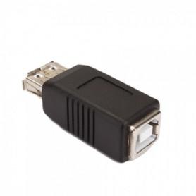 USB A Female to B Female Adapter Converter WWC02341