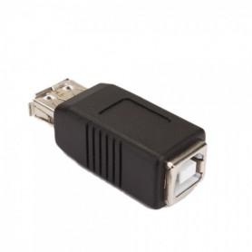 USB A Female to B Female Adapter Converter WWC02341