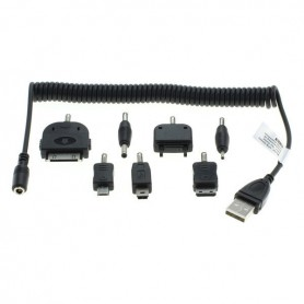 OTB, 7in1 Adapters Nokia 2mm 3.5mm S20 Pin K750 iPhone, USB adapters, ON3080, EtronixCenter.com