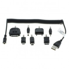 7in1 Adapters Nokia 2mm 3.5mm S20 Pin K750 iPhone