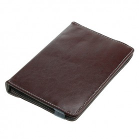 "OTB - 7"" Tablet PC Faux Leather Case Bookstyle - iPad and Tablets covers - ON3160-CB"