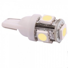 NedRo - 2 Pieces T10 5 SMD LED Car License Plate Light Bulbs - Car lightning - AL692 www.NedRo.us