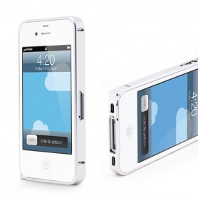 NedRo, Aluminum Case 0.7mm for Apple iPhone 4 / 4S, iPhone phone cases, AL320-CB, EtronixCenter.com
