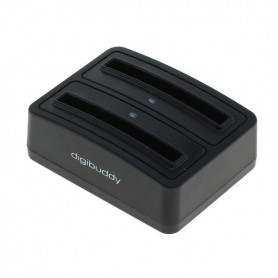 OTB, Dual Battery Chargingdock 1302 for Samsung B500AE ON3410, Ac charger, ON3410