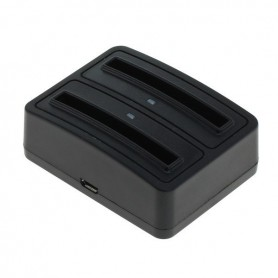 OTB, Dual Battery Chargingdock 1302 for Samsung B500AE ON3410, Ac charger, ON3410, EtronixCenter.com