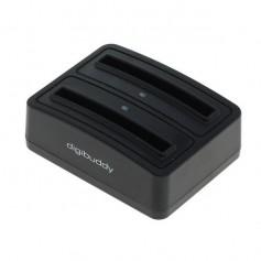 Dual Battery Chargingdock 1302 for Samsung B600BC