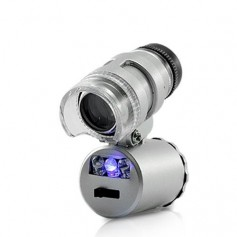 8MM 60X Zoom Microscope Magnifier