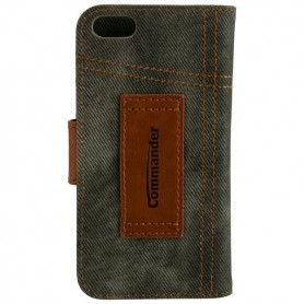 Commander - COMMANDER Bookstyle case for Apple iPhone 5 / 5S / SE - iPhone phone cases - ON3471 www.NedRo.us