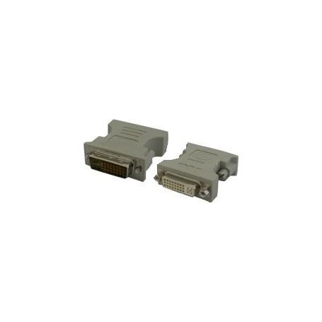 Oem - DVI 24 +5 Female to DVI male - DVI and DisplayPort adapters - YPC217-CB