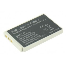 Battery compatible with Sanyo DB-L40 DBL40 DBL-40