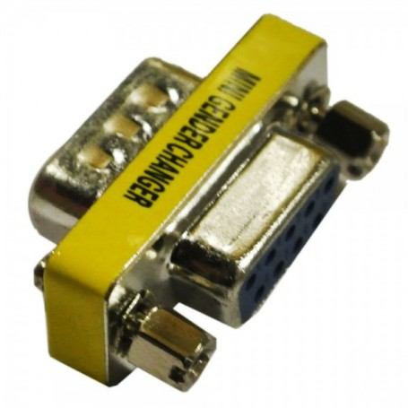 NedRo, RS232 Serial 9 Pin Male to Female Changer Adapter Converter WW81007646, RS 232 RS232 adapters, WW81007646, EtronixCent...