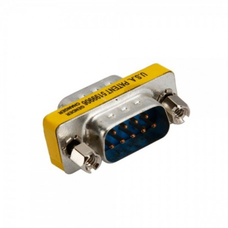 NedRo, Serial RS232 9 Pin DB9 Male to Male Adapter AL588, RS 232 RS232 adapters, AL588, EtronixCenter.com