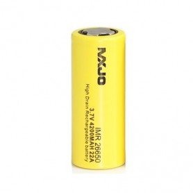 MXJO, MXJO IMR26650F 4200mAh 22A Unprotected, Other formats, NK136-CB