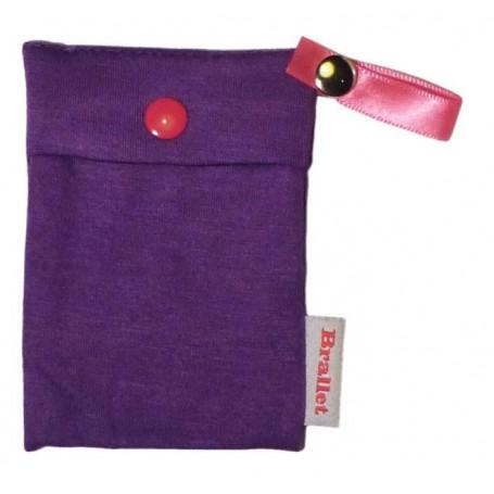 Bye Bra - Brallet Mon cherie purple, key, license, credit card cash holder 9133 - Brallet - 9133 www.NedRo.us