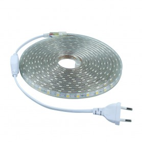 NedRo, Red Led Strip 5M 60led SMD5050 AC 220V Waterproof AL277, LED Strips, AL277
