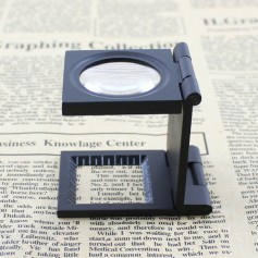 unbranded, Metal Fold Texture Magnifier 10X Zoom, Magnifiers microscopes, AL268