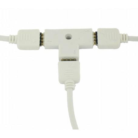 Oem - RGB Splitter 3 Corners Connector AL316 - LED connectors - AL316