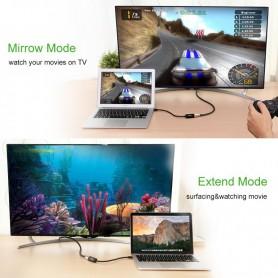 UGREEN, Mini Dislayport DP to HDMI female converter cable UG095, HDMI adapters, UG095