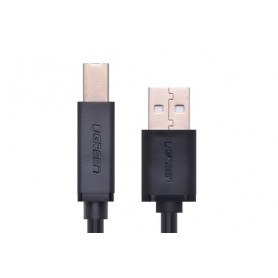 UGREEN, USB 2.0 AM to BM print cable gold-plated, Printer cables, UG119-CB, EtronixCenter.com