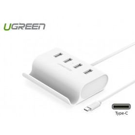 UGREEN - USB-C Type C 4 Ports High Speed HUB with 0.5 m Cable UG135 - Ports and hubs - UG135 www.NedRo.us