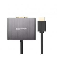 UGREEN - HDMI To VGA 5.1 SPDIF Optical Port And 3.5mm Audio UG148 - HDMI adapters - UG148