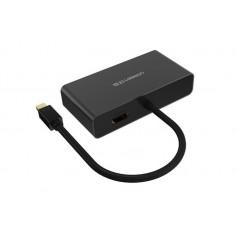 UGREEN - 3in1 Mini DisplayPort DP to HDMI/VGA/DVI converter - HDMI adapters - UG151-CB